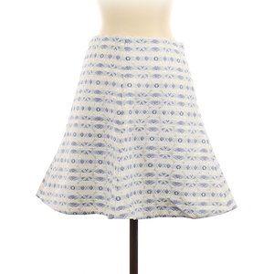 J.Crew Jacquard A Line Skirt Sz 2